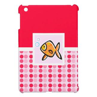 Goldfish lindo iPad mini fundas