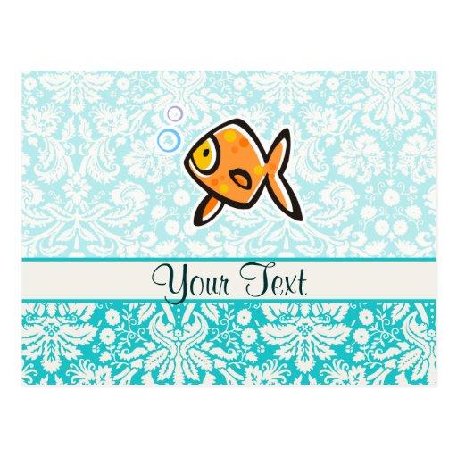 Goldfish; Lindo Tarjeta Postal