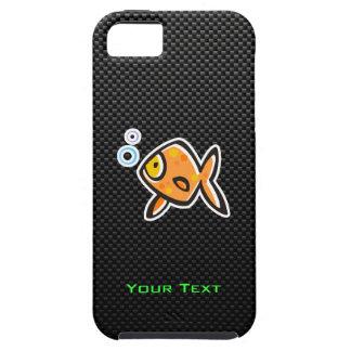 Goldfish liso iPhone 5 Case-Mate cobertura
