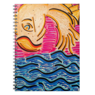 Goldfish Looking Back At You Notebook