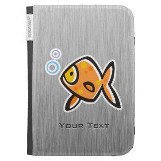 Goldfish; Metal-mirada cepillada