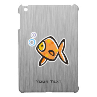 Goldfish; Metal-mirada cepillada iPad Mini Carcasas