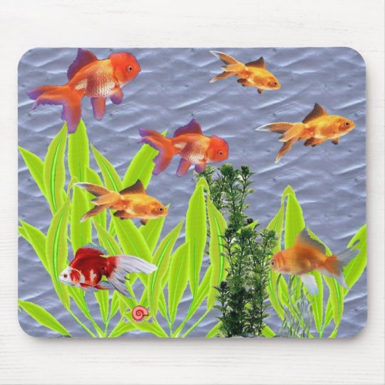 Goldfish Mouse Pad