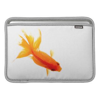Goldfish, overhead view MacBook sleeve