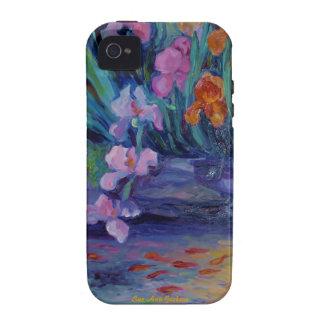 Goldfish Pond Vibe iPhone 4 Cases