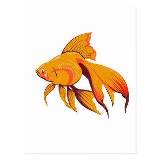 Goldfish Postcard