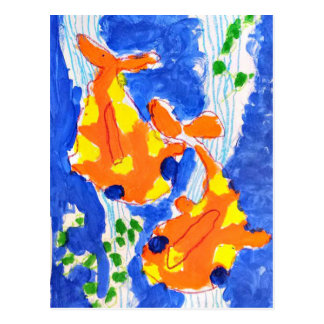 Goldfish postcards