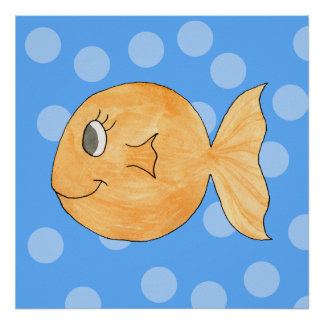 Goldfish. Poster