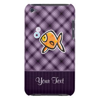 Goldfish púrpura barely there iPod cárcasas