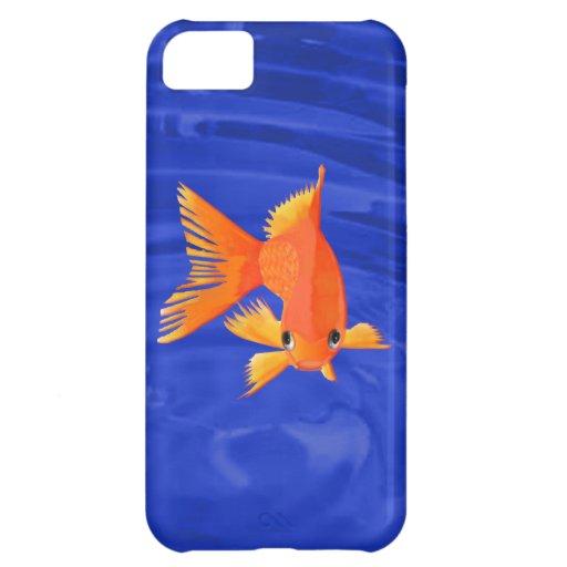 Goldfish que viene en usted funda para iPhone 5C
