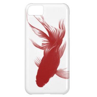 Goldfish rojo de Ryukin Funda iPhone 5C