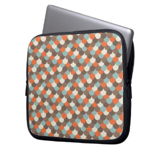 Goldfish Scales Vector Art Computer Sleeve