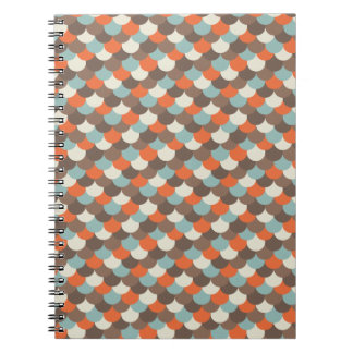 Goldfish Scales Vector Art Note Book