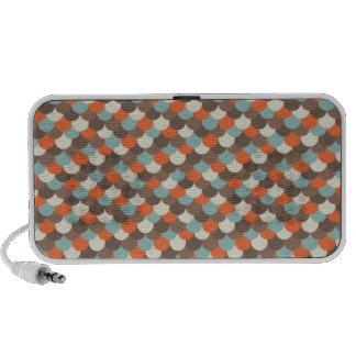 Goldfish Scales Vector Art Portable Speaker