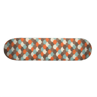 Goldfish Scales Vector Art Skate Boards