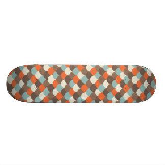 Goldfish Scales Vector Art Skate Boards