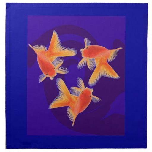 Goldfish Servilletas