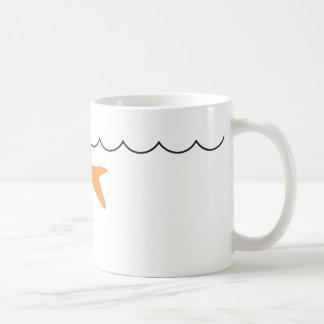 Goldfish Shark Mugwrap 2 Coffee Mug