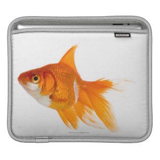 Goldfish, side view iPad sleeve