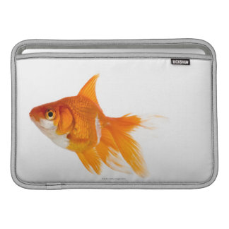 Goldfish, side view MacBook sleeve