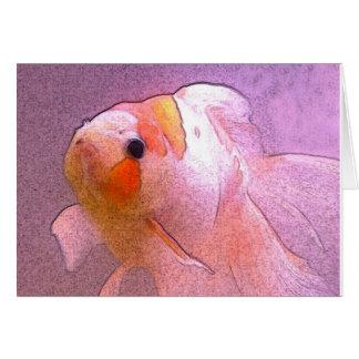 Goldfish Sketch Card