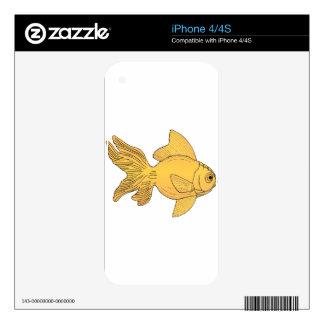 Goldfish Skin For iPhone 4