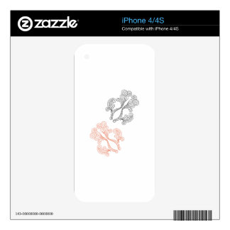 Goldfish Decal For iPhone 4