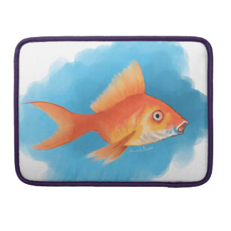 Goldfish Sleeve For MacBooks