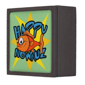 Goldfish Smiling Sun Persian New Year Nowruz Gift Box