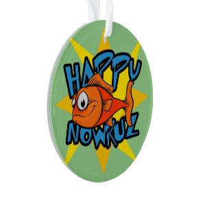 Goldfish Smiling Sun Persian New Year Nowruz Ornament