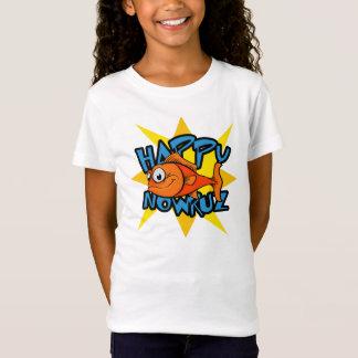 Goldfish Smiling Sun Persian New Year Nowruz T-Shirt