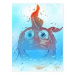 Goldfish sonriente