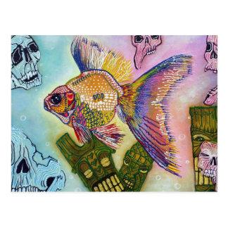 Goldfish Spirits Postcard