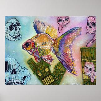 Goldfish Spirits Poster