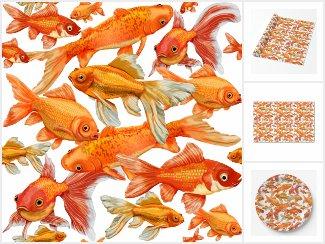 Goldfish theme party supplies