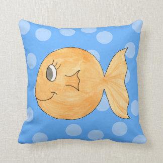 Goldfish. Throw Pillow