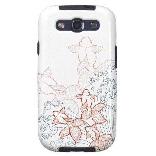 Goldfish Vector Galaxy case Samsung Galaxy SIII Case