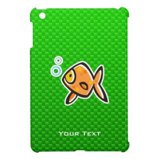 Goldfish verde iPad mini carcasas