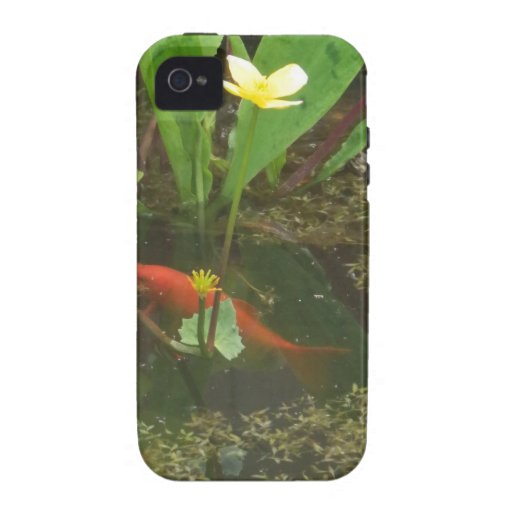 Goldfish Vibe iPhone 4 Carcasa