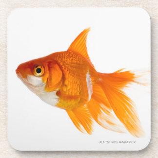 Goldfish, vista lateral posavasos de bebidas