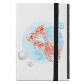Goldfish. Watercolor iPad Mini Case