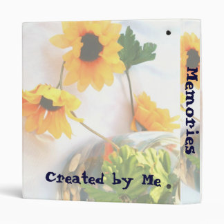 Goldfish Wedding Centerpiece Flowers, Faded ver. 3 Ring Binder