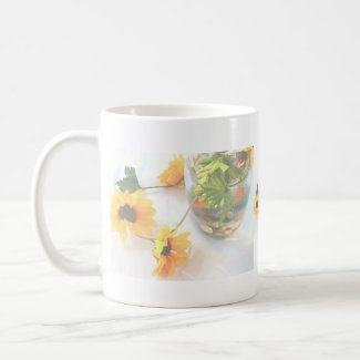 Goldfish Wedding Centerpiece Flowers, Faded ver. mug