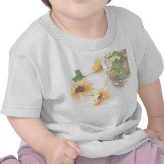 Goldfish Wedding Centerpiece Flowers, Faded ver. Tee Shirts