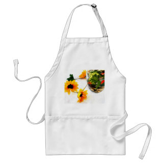 Goldfish wedding centerpiece sunflower photograph adult apron