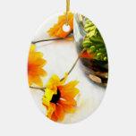 Goldfish wedding centerpiece sunflower photograph christmas ornaments