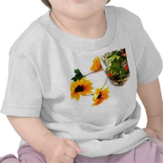 Goldfish wedding centerpiece sunflower photograph tee shirts