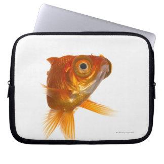 Goldfish with Big eyes 3 Computer Sleeve