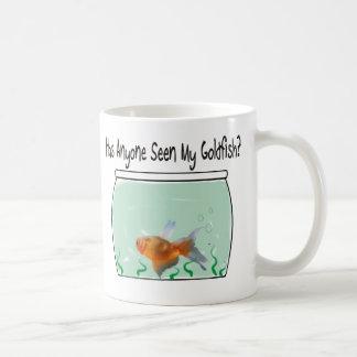 Goldfish y cuenco divertidos tazas