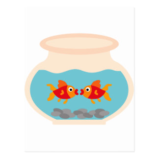 GoldfishMix2 Postcard